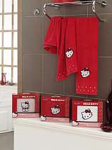 Полотенце Hello Kitty Bamboo 70x140 и 50x90 Мультяшки